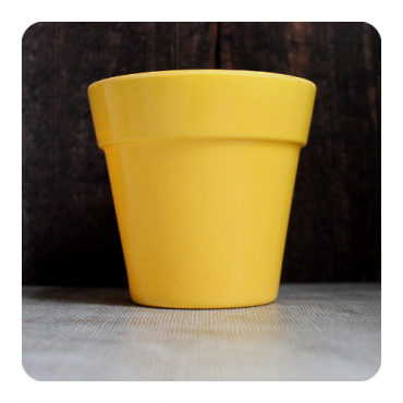Small Classic Planter - Yellow (SOLD OUT) Image