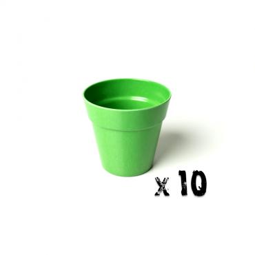 10 x Small Classic Planter - Green Image