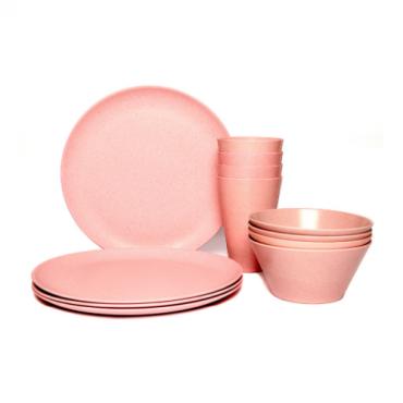 Dining Set for Four - Light Pink Image