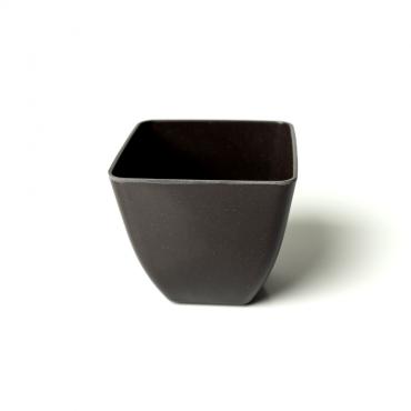 Small Square Planter - Black Image