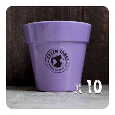 10 x Small Classic Planter - Purple Image