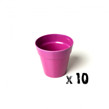 10 x Small Classic Planter - Pink Image