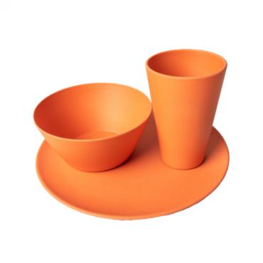 Individual Dining Set - Orange Image