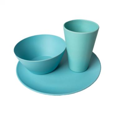 Individual Dining Set - Light Blue Image