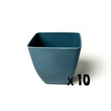 10 x Small Square Planter - Navy Blue Image