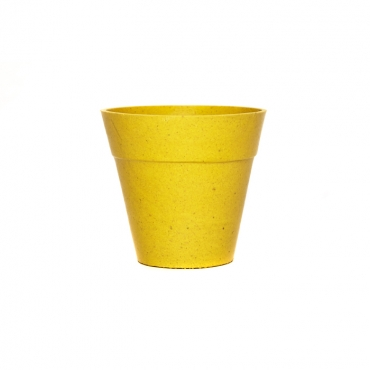 Small Classic Plant Pot - Yellow Image