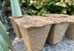 100 x Wood Fibre Pots Image