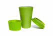 Set of 2 Light Green Coffee Cup Image