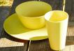Individual Dining Set - Yellow Image